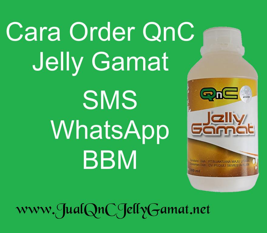 Car pesan QnC Jelly Gamat