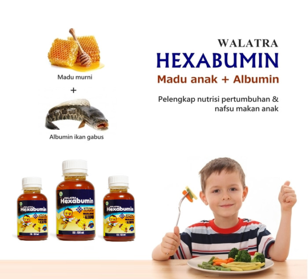 Walatra Hexabumin Obat Gemuk & Nafsu Makan Anak   Review Manfaat