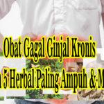 Obat Gagal Ginjal Kronis Stadium 5 Herbal Paling Ampuh & Mujarab